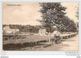 CHATILLON ..--  OLDTIMER . 1928 Vers BRUXELLES ( Melle Germaine Her????) . Voir Verso . - Saint-Léger