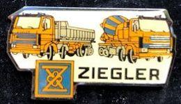 VEHICULE DE CHANTIER ZIEGLER - CAMIONS - TRUCKS - LASTWAGEN - TRAVAUX - LAVORI - WORKS - FUNKTIONIERT - TRABAJOS -  (26) - Transportes