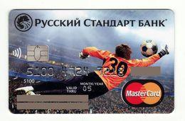 Russian Standard Bank RUSSIA Football Mastercard EXPIRED - Carte Di Credito (scadenza Min. 10 Anni)