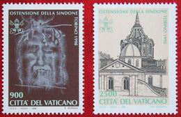 Ausstellung Des Grabtuches Christi, Turin 1998 Mi 1244-1245 Yv 1106-1107 POSTFRIS / MNH / ** VATICANO VATICAN VATICAAN - Vatican