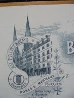 FACTURE - 28 - DEPARTEMENT EURE ET LOIR - CHARTRES 1907 - GRANDS MAGASINS DE NOUVEAUTES : BILLAUD-CAILLARD - Unclassified