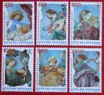 Musizierende Engel 1998 Mi 1246-1251 Yv 1108-1113 POSTFRIS / MNH / ** VATICANO VATICAN VATICAAN - Vatican
