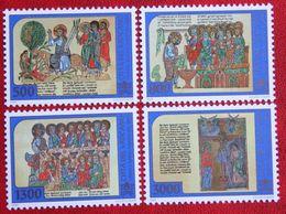 Heiliges Jahr 2000 1998 Mi 1252-1255 Yv 1114-1117 POSTFRIS / MNH / ** VATICANO VATICAN VATICAAN - Vatican