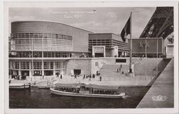 Pavillon De Belgique, Carte Postale Circulée. Exposition Internationale 1937. - Francia