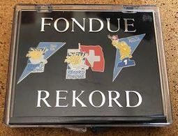 RECORD DU MONDE DE LA PLUS GRANDE FONDUE - REKORD - SUISSE - SCHWEIZ - SVIZZERA - SWITZERLAND - EGF - 27.11.94 -  (26) - Alimentation