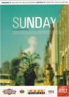 """D2230 CARTE AFFICHE """"SUNDAY"""", DE JONATHAN NOSSITER - 1997 - AVEC DAVID SUCHET, LISA HARROW ET JARED HARRIS - Affiches Sur Carte"""