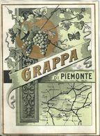 """8666 """" GRAPPA DI PIEMONTE  """"  - Cm. 12,4 X 9,1 - Etichette"""