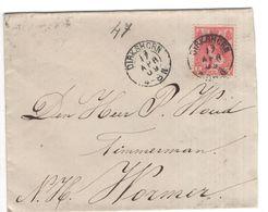 Dirkshorn - 17 APR 09 - Wormer - Postal History
