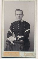 CDV - Portrait Militaire - Un Dragon Du 31e Régiment - Par Lemercier à Epernay (Ca 1895-1900) (BP) - War, Military