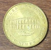 30 NÎMES LES ARÈNES N°2 MEDAILLE TOURISTIQUE MONNAIE DE PARIS 2010 JETON MEDALS COINS TOKENS - Monnaie De Paris