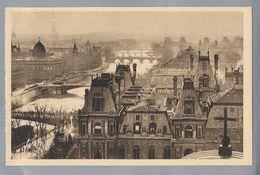 FR.- PARIS ... EN FLANANT 98 - Vue Panoramique De Paris Perspective Des 7 Points. Les Editions D'Art YVON. - France