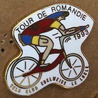 VELO - CYCLISME - BIKE - CYCLISTE - TOUR DE ROMANDIE 1993 - 75ème VELO CLUB EDELWEISS - LE LOCLE - SUISSE - SWISS - (26) - Cyclisme