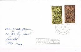 36940. Carta BAILE ATHA CLIATH (Dublin) Irlanda 1972. Olympic Games - 1949-... Republic Of Ireland