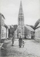 THIEMBRONNE : L'Eglise- Rue Animée - Other Municipalities