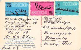MEXICO - 2 PICTURE POSTCARD 1968 OLYMPICS /ak545 - Mexiko