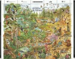 MEXICO - MNH - Animals - Wild Animals - Birds - Nature - Sellos