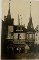 NEUCHÂTEL: Maison Du Prince - Ecole Hôtelière Et Magasin De Chaussures Huber.RARE !!! (1) - NE Neuchatel