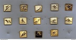 Lot De 13 Pin's JO Albertville 92 - Juegos Olímpicos