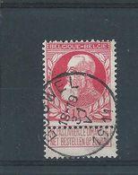 OCB 74 - Afstempeling BOUWEL - COBA 8 - 1905 Barba Grossa