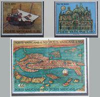 UNESCO For Venice 1972 Mi 599-604 Yv 536-541 POSTFRIS / MNH / ** VATICANO VATICAN VATICAAN - Vatican