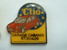 Pin's RENAULT CLIO - GARAGE CABANIS - Renault