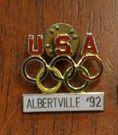 Pin's JO ALBERTVILLE 92 - Giochi Olimpici