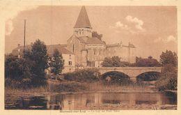 CPSM 85 Vendée Mareuil Sur Lay Dissais Le Lay Au Pont Neuf - Mareuil Sur Lay Dissais