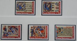 Jahr Des Buches Livre Book 1972 Mi 605-609 Yv 542-546 POSTFRIS / MNH / ** VATICANO VATICAN VATICAAN - Vatican