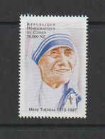 Democratic Republic Of Congo 1998 Mother Theresa MNH ** - Neufs