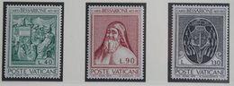 500 Anniversary Death Of J. Bessarione Coat Of Arms Fresco 1972 Mi 610-612 Yv 547-549 POSTFRIS MNH ** VATICAN VATICAAN - Vatican