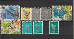 Mayotte 2003-2004 Lot De 9 Timbres Oblitérés Dont 151a Et 158a - Oblitérés