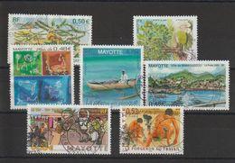 Mayotte 2005 Lot De 7 Timbres Oblitérés - Oblitérés