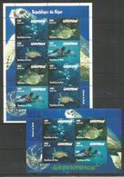 NIGER - MNH - Animals - Reptiles -  Turtles - Marine Life - Greenpeace - Turtles