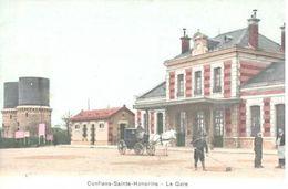 CONFLANS SAINTE HONORINE    LA GARE - Conflans Saint Honorine