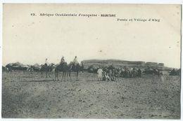 Mauritanie Aleg Poste Et Village - Mauritania