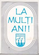 Romania Small Calendar - 1979 - OJT Sibiu - Calendars