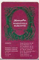 Romanian Small Calendar - 1978 - Romarta - Calendars