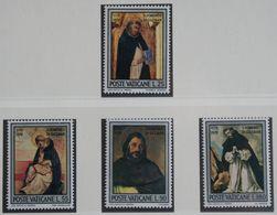 Geburtstag Des Hl. Dominikus Von Guzman 1971 Mi 586-589 Yv 527-530 POSTFRIS / MNH / ** VATICANO VATICAN VATICAAN - Vatican
