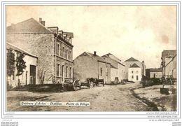 CHATILLON ..--  Village . 1911 Vers FARCIENNES ( Mr Mme TROCLET ) . Voir Verso . - Saint-Léger