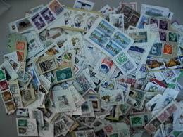 Beau Vrac De + De 2000 Timbres à Décoller Du Monde Entier Varié - Briefmarken