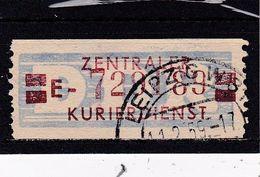 DDR, Dienst: ZKD Nr. 21 E, Gest. (T 16787) - Official