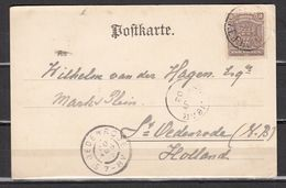 British SouthAfrica Company,1902 Postkarte,postcard To Holland,see  Scans(C442) - Afrique Du Sud (...-1961)