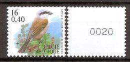 BELGIE * Buzin * Nr R 95a  (1) - 4 Cijfers * Postfris Xx - Rouleaux