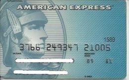 AMEX12 BRAZIL CREDIT CARD AMERICAN EXPRESS BLUE - Cartes De Crédit (expiration Min. 10 Ans)