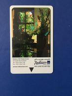CARD RADISSON SAS HOTEL AMMAN - Telefonkarten