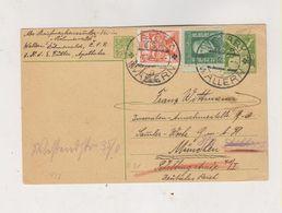 CZECHOSLOVAKIA 1927 VOLARY Postal Stationery To Germany - Czechoslovakia