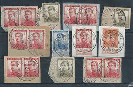 Lot Pellens Met Legerpoststempels - 1912 Pellens