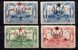 Turquie YT N° 418/421 Neufs *. B/TB. A Saisir! - 1858-1921 Osmanisches Reich