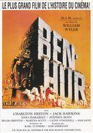 """D2239 CARTE AFFICHE - """"BEN-HUR"""" - UN FILM DE WILLIAM WYLER, AVEC CHARLTON HESTON ET JACK HAWKINS - Affiches Sur Carte"""