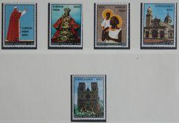 Reise Des Papstes Nach Australien Und Den Philippinen 1970 Mi 572-576 Yv 513-517 POSTFRIS MNH VATICANO VATICAN VATICAAN - Neufs